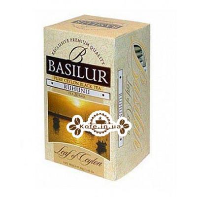 Чай BASILUR Ruhunu Рухуна - Лист Цейлону 20 х 2 г (4792252001206)