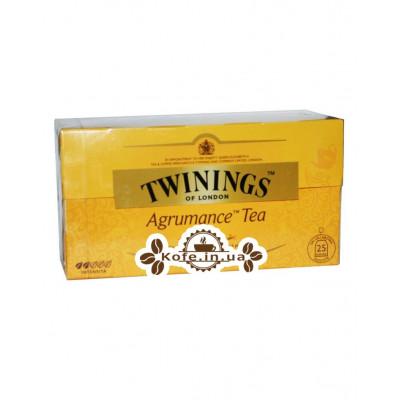Чай TWININGS Agrumance Tea Цитрусовый 25 х 2 г (070177182977)