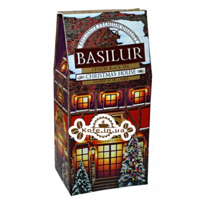 Чай BASILUR Christmas House Різдвяний Будиночок - Будиночки 100 г к / п (4792252927285)