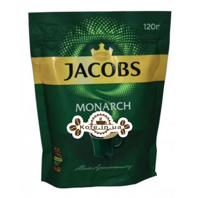 Кава Jacobs Monarch розчинна 120 г економ. пак. (4820187046525)