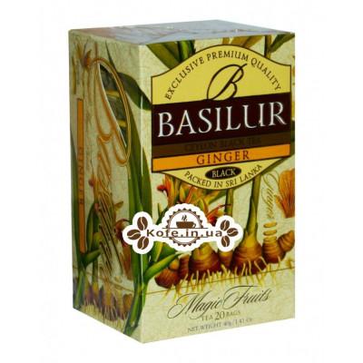 Чай BASILUR Ginger Імбир - Чарівні Фрукти 20 х 2 г (4792252916562)