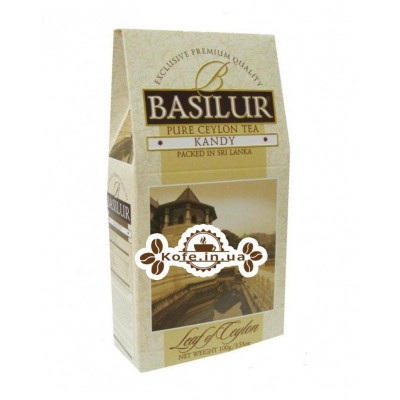 Чай BASILUR Kandy Канди - Лист Цейлона 100 г к/п (4792252100084)