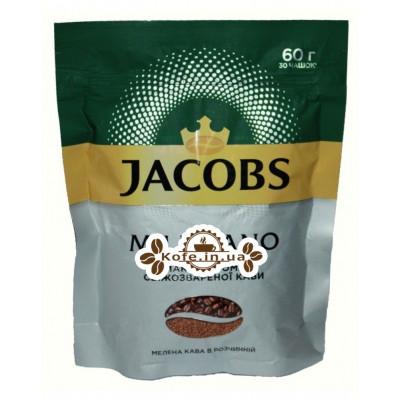 Кава Jacobs Millicano цільнозернова розчинна 60 г економ. пак. (4820187046440)
