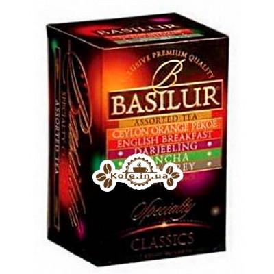 Чай BASILUR Assorted Tea Ассорти - Избранная Классика 20 х 2 г (4792252002746)