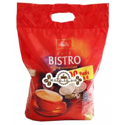 Кава Melitta Bistro Kraftig-Aromatisch в монодозах (чалдах, таблетках) 100 х 7 г (4002720004104)