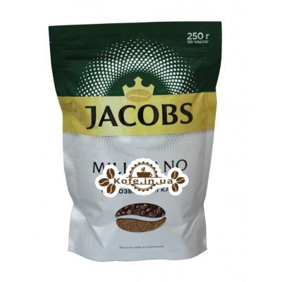 Кофе Jacobs Millicano цельнозерновой растворимый 250 г эконом. пак. (4820187043289)