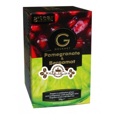 Чай GRACE! Gourmet Pomegranate Bergamot Гранат Берегомет 20 х 1,75 г (5060207697392)