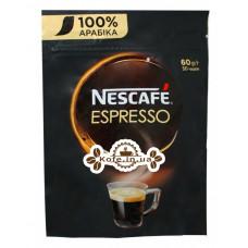 Кава Nescafe Espresso 100% Арабіка розчинна 60 г економ.пак. (7613035692978)