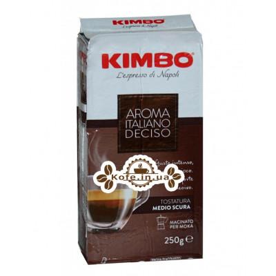 Кава KIMBO Aroma Italiano Gusto Deciso мелена 250 г (8002200106010)