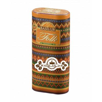 Чай BASILUR Folk Rainbow Веселка - В'язана 100 г ж / б (4792252918122)