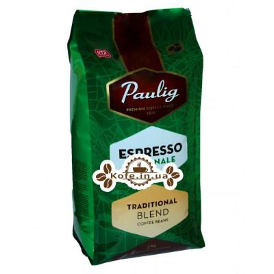 Кава Paulig Espresso Originale Traditional Blend зернова 1 кг (6418474039015)