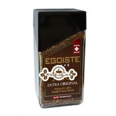 Кава Egoiste XO Exstra Original цільнозернова розчинна 100 г ст. б. (7610121710707)