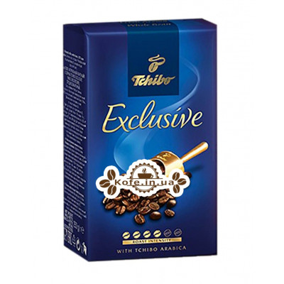 Кава Tchibo Exclusive зернова 250 г