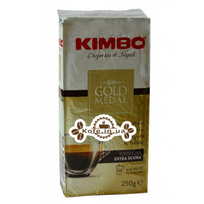 Кофе KIMBO Gold Medal молотый 250 г (8002200101275)