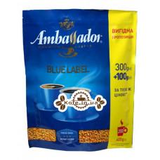 Кофе Ambassador Blue Label растворимый 300 г + 100 г эконом.пак. (8719325224184)