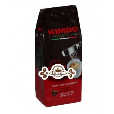 Кава KIMBO Espresso Napoletano зернова 1 кг (8002200101688)