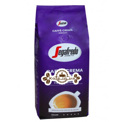 Кава Segafredo Caffe Crema Gustoso зернова 1 кг (5900420080116)