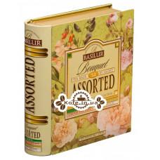 Чай BASILUR Bouquet Букет Асорті - Пакетована Книга 32 х 1,5 г ж / б