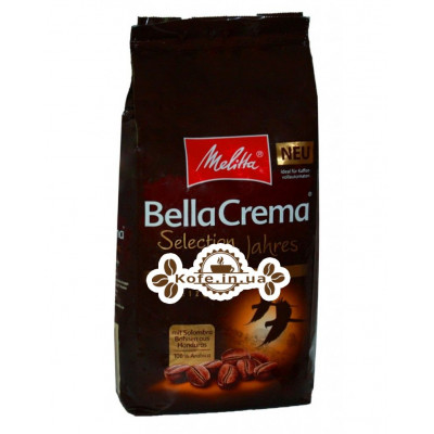 Кава Melitta Bella Crema Selection Des Jahres 2018 зернової 1 кг (4002720008096)
