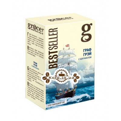 Чай GRACE! Earl Grey Граф Грей - Бестселер 100 г к / п (5060207692649)