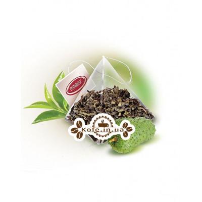Саусеп Екстра зелений ароматизований чай Османтус 50 х 2,5 г