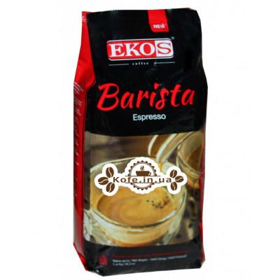 Кава EKOS Barista Espresso зернова 1 кг (5609374249074)