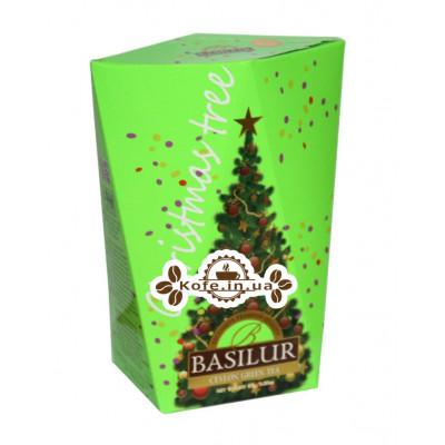 Чай BASILUR Елка Зеленая - Рождественская Ель 85 г к/п (4792252932722)