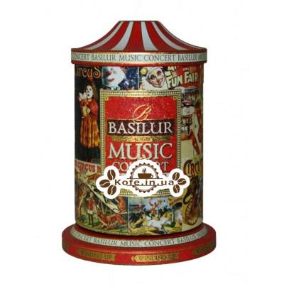 Чай BASILUR Музыкальная Шкатулка Circus Цирк - Праздничая 100 г ж/б (4792252925564)
