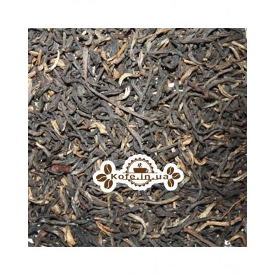 Золотий Юннань чорний класичний чай Османтус