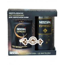 Кава Nescafe Espresso розчинна 140 г ж / б + економ.пак.