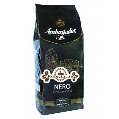 Кофе Ambassador Nero зерновой 1 кг Германия (4051146000962)