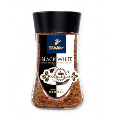 Кава Tchibo FOR BLACK N WHITE розчинна 100 г ст. б. (4046234794847)