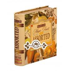 Чай BASILUR Assorted Magic Fruits Магічні Фрукти Асорті - Пакетована Книга 32 х 2 г ж / б