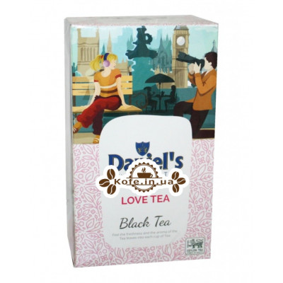 Чай Daniel's Love Tea Black Tea 100 г к / п / б (4796017690544)