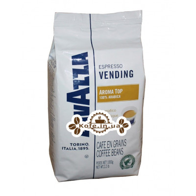 Кава Lavazza Espresso Vending Aroma Top зернова 1 кг