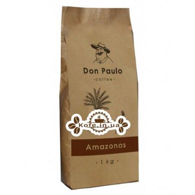 Кава Don Paulo Amazonas зернова 1 кг