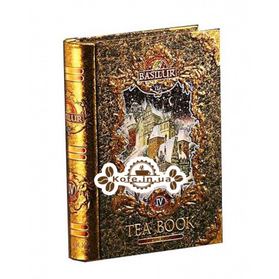 Чай BASILUR Winter Book Том 4 - Зимова Книга 100 г ж / б