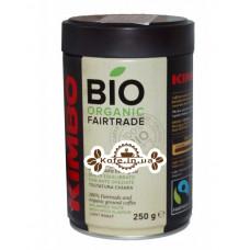 Кофе KIMBO Bio Organic Fairtrade молотый 250 г ж/б (8002200101558)