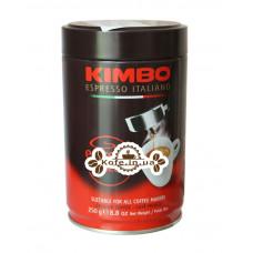 Кофе KIMBO Espresso Napoletano молотый 250 г ж/б (8002200302412)