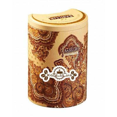 Чай BASILUR Masala Chai Масала - Восточная 100 г ж/б (4792252002241)