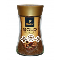 Кава Tchibo Gold Selection розчинна 200 г ст. б. (4046234767650)