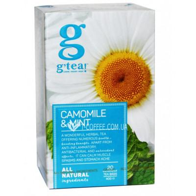 Чай GRACE! Green Tea Camomile Mint Зеленый чай Ромашка Мята - The Bright Collection 20 х 2 г (5060207695992)