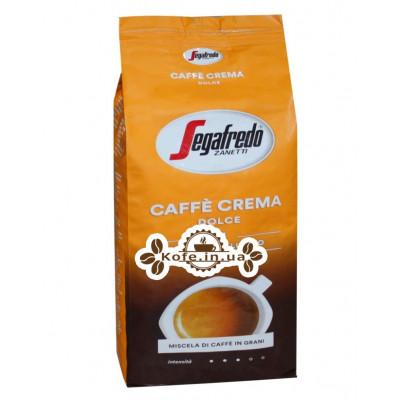 Кава Segafredo Caffe Crema Dolce зернова 1 кг (5900420080109)