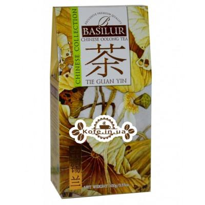 Чай BASILUR Tie Guan Yin Те Гуан Инь - Китайская 100 г к/п (4792252936829)