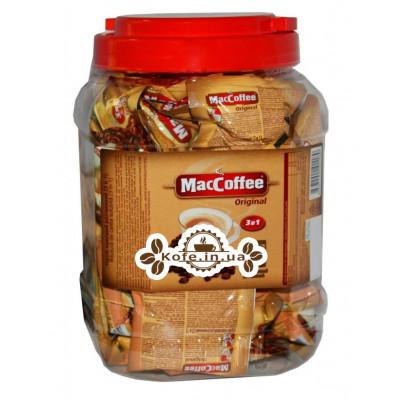 Кофе MacCoffee 3в1 Original Оригинал растворимый 50 х 20 г п/б (8887290101189)