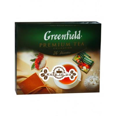 Чай Greenfield Premium Tea Collection 24 Varieties Премиальная Коллекция 24 Вида 96 х 2 г (4823096806105)