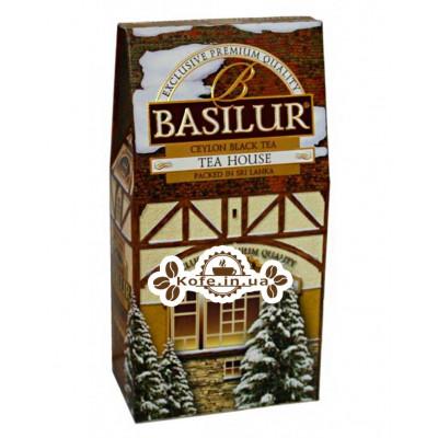 Чай BASILUR Tea House Чайний Будиночок - Будиночки 100 г к / п (4792252927278)