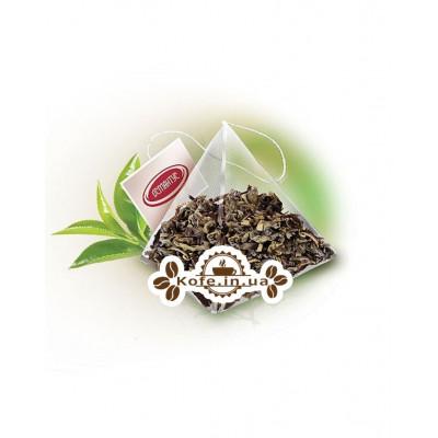 Зелений Порох Мелфорт зелений класичний чай Османтус 50 х 2 г