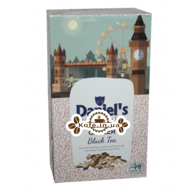 Чай Daniel's Ginger Black Tea 100 г к/п (4796017690568)