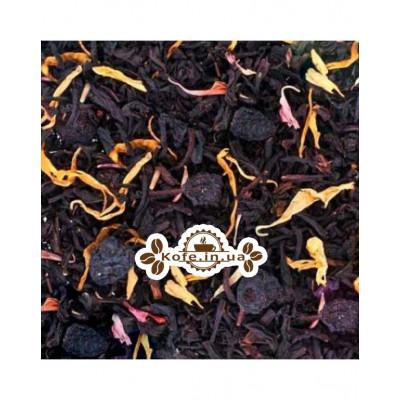 Смородина з Ароматом Шампанського зелений ароматизований чай Країна Чаювання 100 г ф / п